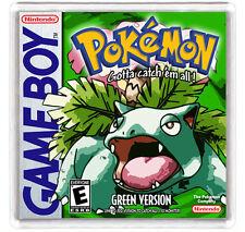 POKEMON GREEN VERSION NINTENDO GAME BOY FRIDGE MAGNET IMAN NEVERA