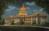 Postcard State Capitol Jackson Mississippi
