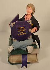 """Hermione Granger 7"""" Doll Hallmark Figure Figurine Photo Frame Book Drawer Potter"""