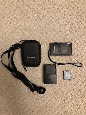 Used Canon PowerShot ELPH 110 HS 16.1MP Digital Camera Black