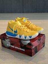 Nike Kyrie 4 Kix Sneakers, Nike Kyrie Yellow Shoes Size 10 , Nike Men Sneakers