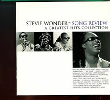 Stevie Wonder / Song Review - A Greatest Hits Collection - MINT
