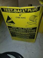 "Cherne 270-040 Rubber Test Ball Plug 4"" & 270-237 3"" Gripper Plug Free Shipping"