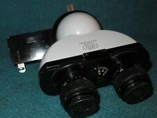 Carl Zeiss Mikroskopkopf Mikroskop-Kopf binokular head unit + Filterleiste