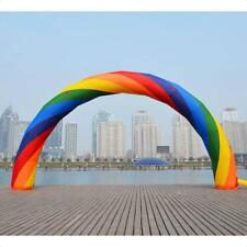 Brand New Discount 40ft*20ft D=12M/40ft inflatable Rainbow arch Advertising 8M Y