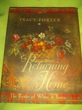Rare BOOK Returning Home By TRACY PORTER Andrews Mc Meel Publisher Dust Jacket