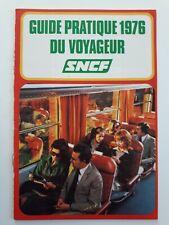 Sncf Guide pratique du voyageur 1976