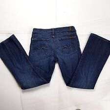 7 For All Mankind Womens 28 x 28 Flared Leg Mid-Rise Boot Cut Jeans Rn11556