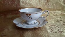 Vintage Freiberger Porzellan Cup and Saucer Made in Germany