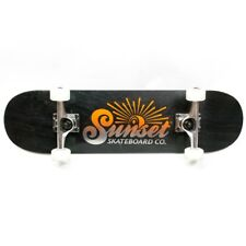"SUNSET SKATEBOARDS Mini Street Wood 7.4"" x 28.75"" Complete Skateboard"