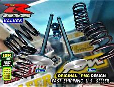 GY6 R Racing Cylinder Head Viton Seals Flat Valve Spring Kit 150cc to 200cc *Hi*