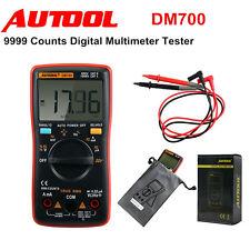 DM700 9999 Counts High Precision Mini Auto Ranging Digital Multimeter Tester