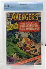 Avengers #3 CBCS (like CGC) 8.0! 1st Avengers Meet Sub-Mariner & Hulk Team-up!