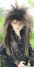 Dollfie bjd SD Wig peluca Star size 7-8 Brown Black/Chesnut Brown