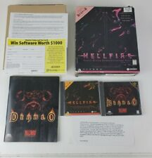 Diablo Expansion Pack Hellfire Hell Fire (SIERRA) Big Box PC Game Windows 95