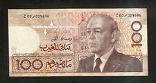 MAROCCO - BANK AL MAGHRIB - 100 DIRHAMS (1987)