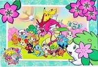 Pokemon center JAPAN - Pikachu shining Gyarados Shaymin - official Post Card