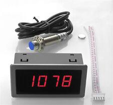 1x Digital Rot Drehzahlmesser Tacho 10-9999 RPM Meter + Näherungsschalter Sensor