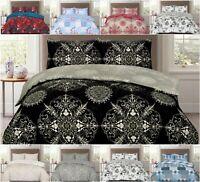 Duvet Cover Bedding Pillowcase Single Double King Size Stylish Quilt Cover Set