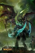 POSTER WORLD OF WARCRAFT WOW FROSTMOURNE LICH KING ILLIDAN VIDEOGAME FANTASY #4
