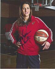 STEPHANIE WHITE Signed 8x10 Photo INDIANA FEVER WNBA Basketball VANDERBILT Coach