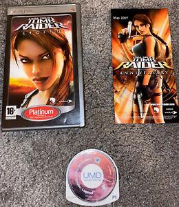 Tomb Raider Legend - Sony PSP - Complete with manual - Lara Croft