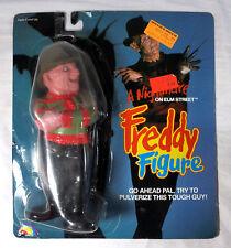 1989 A Nightmare on Elm Street Freddy Figure on Original Card by LJN Toys