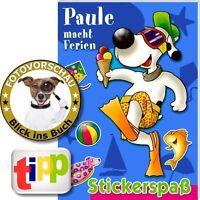 Stickerheft: Paule macht Ferien am Meer (Stickerbuch mit 60 Stickern Stickerspaß