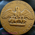 MED3418 - MEDAILLE TRANSFUSION SANGUINE HOTEL DIEU LYON 1981 - FRENCH MEDAL