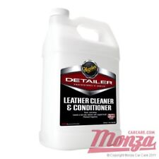 Meguiars Detailer Leather Conditioner & Cleaner 3.75 Litres **USE WITH GLIPTONE*