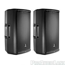 "JBL EON615 1000 Watt Active Powered DJ PA 15"" 2-way Speakers PAIR"