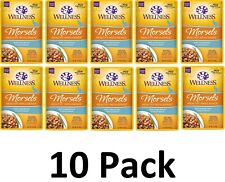 Wellness Healthy Indulgence Natural Grain Free Wet Cat Food Turkey & Duck 10 Pk.