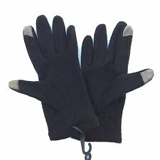 By NORDSTROM Woman Black Wool Blend Gloves NWT