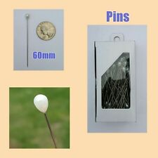 Hijab Scarf Pin | Dressmaking Pins | 150 Pins | 2.4 in / 6cm | FREE Shipping USA