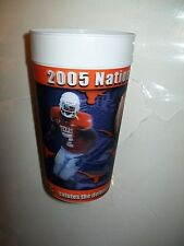 TEXAS LONGHORNS FOOTBALL 2005 NATIONAL CHAMPIONS 32 OUNCE 3D COLLECTORS CUPS