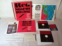 Vintage 1989 MicroProse Red Storm Rising IBM Tandy PC XT AT Big Box PC Game