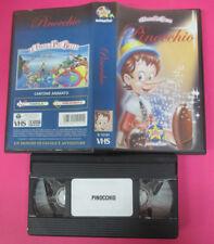 VHS film PINOCCHIO le favole piu'belle animazione STARDUST S 12121 (F175) no dvd