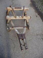 8495. Schöner alter Pferde Schlitten Lastenschlitten Holz old sledge