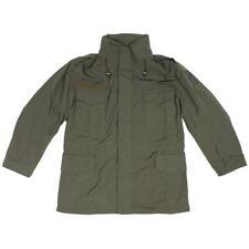 Genuine Austrian Army M65 Rain Jacket Olive Gore-Tex Lined Waterproof Parka