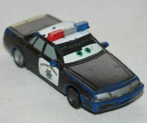 Disney Pixar Cars Highway Patrol Axle Accelerator Color Changer Farbwechsl #0212