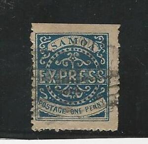 Samoa: 1877; Scott 1, used, good impresion, 2 signatures back, EBSS03