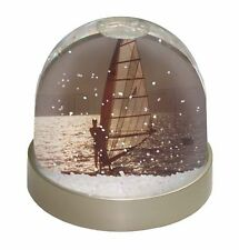 Wind Surfing Photo Snow Globe Waterball Stocking Filler Gift, SPO-WS4GL