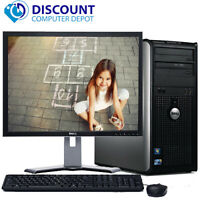 "Dell Optiplex 780 Windows 10 Desktop PC Computer 3.0GHz 4GB 1TB w/17"" LCD Wifi"