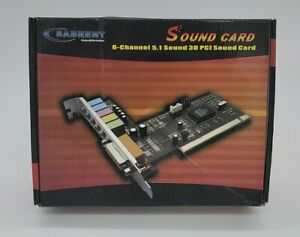 Sabrent PCI (SBTSP6C) Sound Card