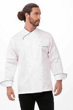 Chef Works Mens Bali Premium Cotton Chef Coat (Ecri)