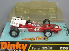 Dinky Toys Modelo No. 226 Ferrari 312 / B2 Auto De Carreras Mib