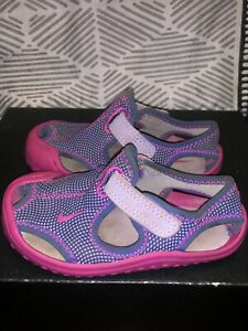 toddler nike sunray protect 1 pink purple size 7