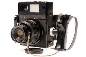 Mamiya Universal Press Sekor 4.7/127mm 6x7 Film Holder M-Adapter Grip Super 23