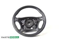 03-06 Mercedes S55 CL55 AMG W220 Sport Steering Wheel Black w/ Paddle Shifters