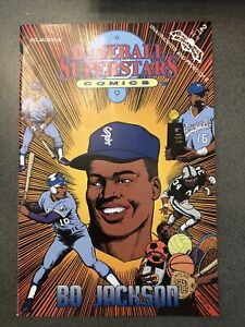 Baseball Superstars Comics #2 NM 1992 Bo Jackson